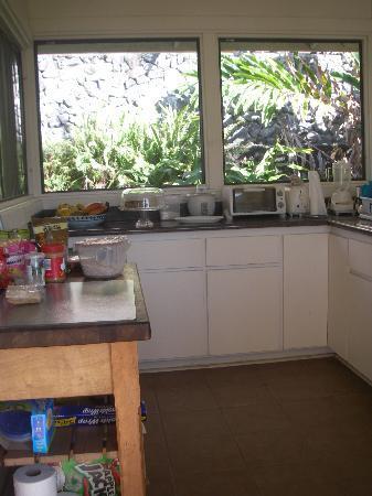 Aaron's Cottage: Communal Kitchen & BBQ use