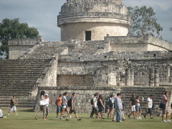 Чичен-Ица: observatorio maya