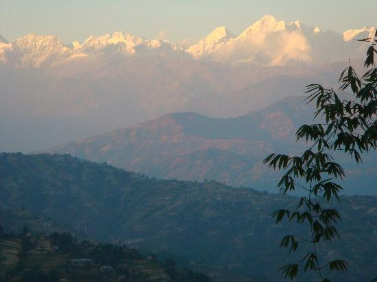 Dhulikhel Lodge Resort : View from my room