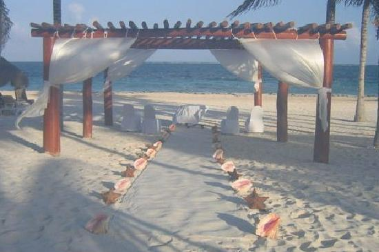 Excellence Riviera Cancun Wedding Area