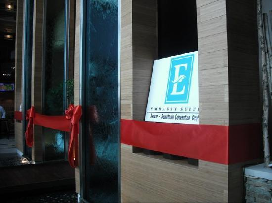 Embassy Suites by Hilton Denver - Downtown / Convention Center: Grand opening of Embassy Suites