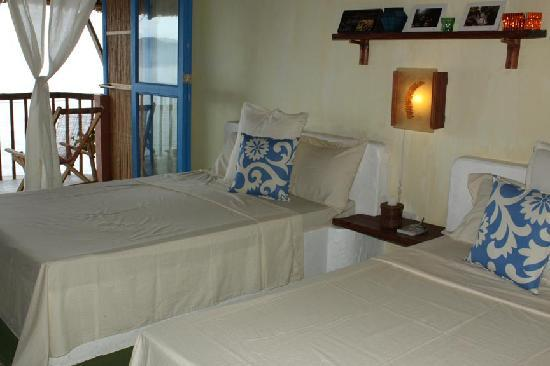 Portulano Dive Resort: simple but comfortable beds