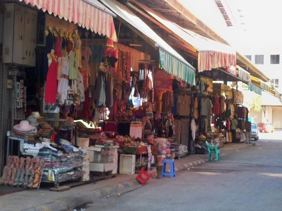 Siem Reap, Kambodscha: Shop and stroll