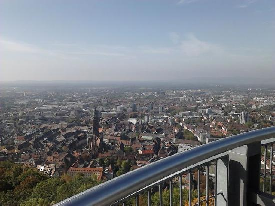 Schlossberg: View from the top-town