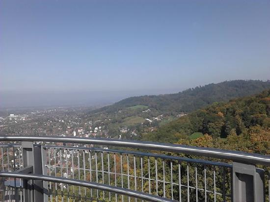 Schlossberg : View from the top-country