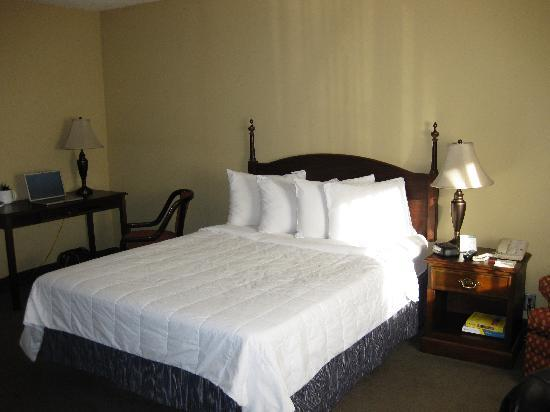 Mansion View Inn : The queen bed.
