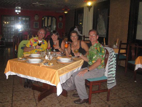 BelleVue BeachFun4Life Puntarena: souper en bonne compagnie nos amis