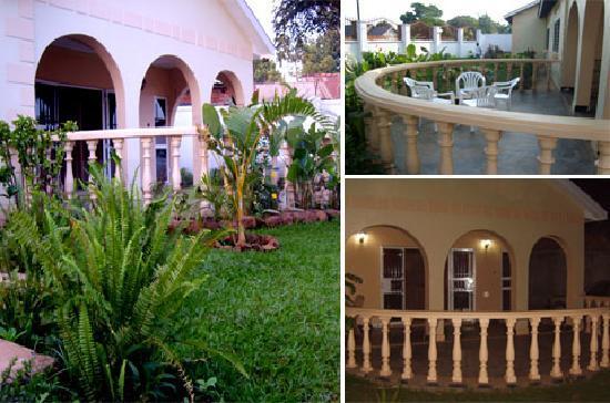 Entebbe, Uganda: Motel side views