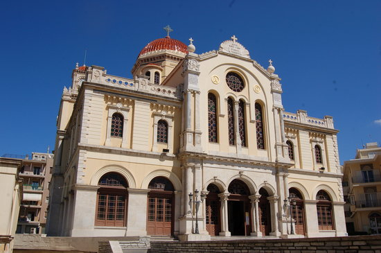 Heraklion, Grekland: The cathedral