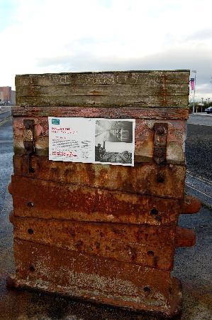 Titanic's Dock and Pump-House: i supporti per le chiglie
