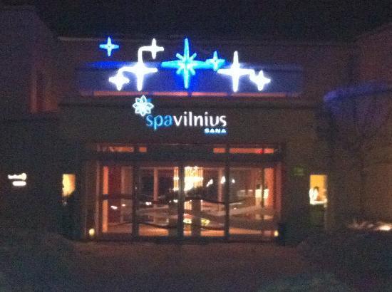SPA VILNIUS Druskininkai: Main entrance