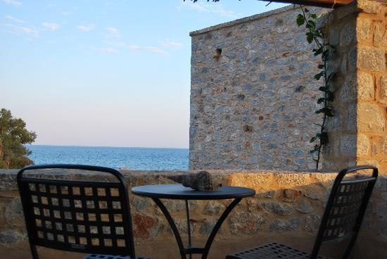 Castello Antico Beach Hotel: veranda