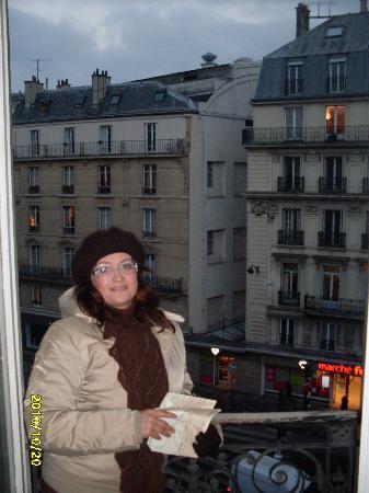 Modern Hotel Lafayette : panorama dalla finestra dell hotel