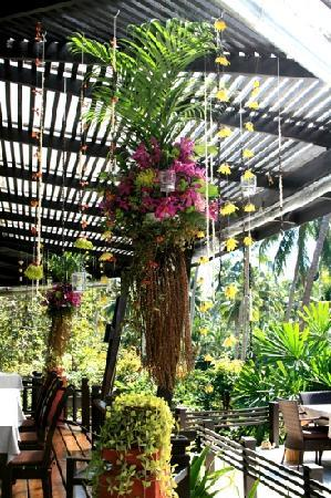 Shantaa Koh Kood: schön dekoriertes restaurant