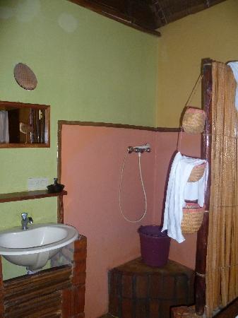 Chez Eugenie: Shower