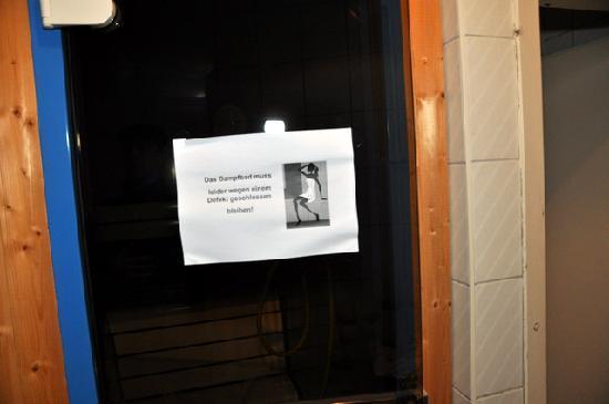 Alpenhotel Edelweiss: ständig defekt