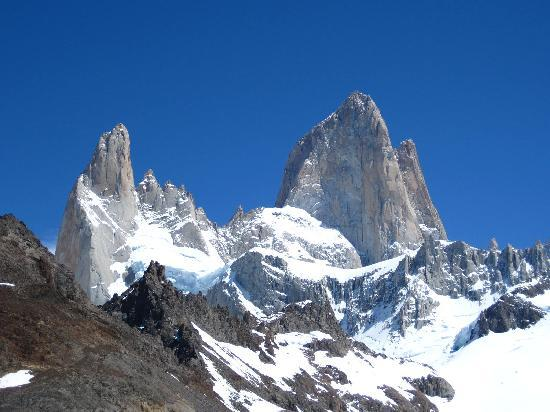 El Chalten, Argentine : Fitz Roy Massif (yes, we had a perfect day)
