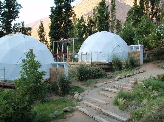 Hotel Astronomico Elqui Domos : Some dones are newer than others