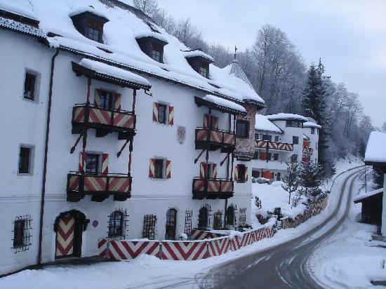 Fieberbrunn, Østerrike: La neve