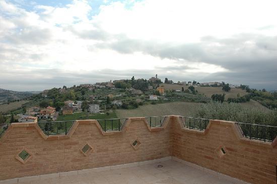 Francavilla d'Ete, Itália: visuale del panorama