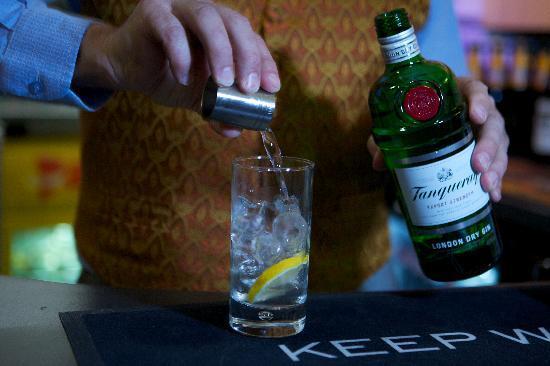 The Garrack Hotel: Gin & Tonic