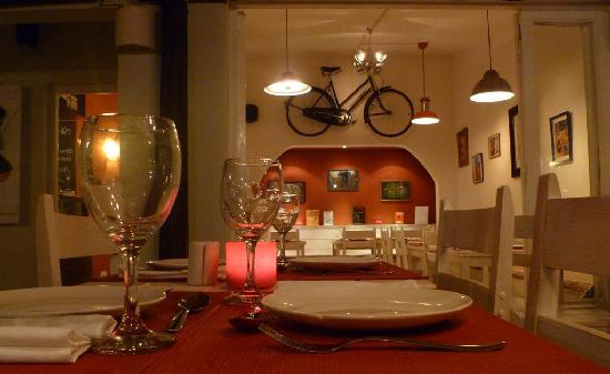 La Bicicletta Cafe: the bicycle