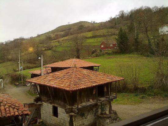 Hotel Rural Casa de La Veiga: vistas desde habitación.