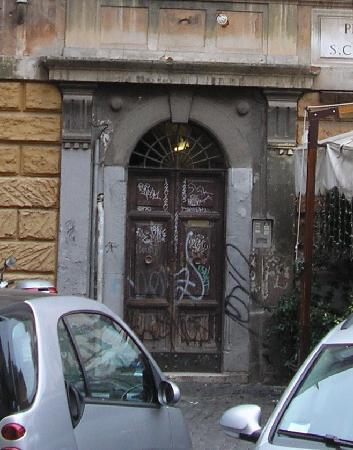 """Calisto 6 Bed & Breakfast: The """"charming"""" B&B entrance"""