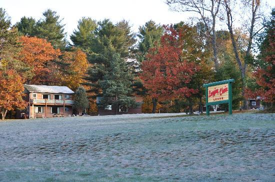 Logging Chain Lodge: First Frost and our Open Play Area