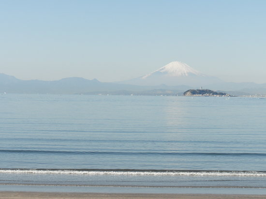 Zushi, Япония: 富士山遠望