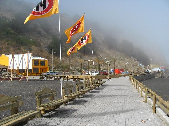 Constitución, Chile: playas arregladas