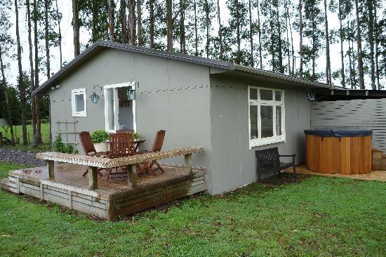 B&B Blossom Cottage: cottage  et spa