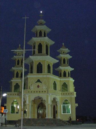 Kanyakumari, India: Nice church there