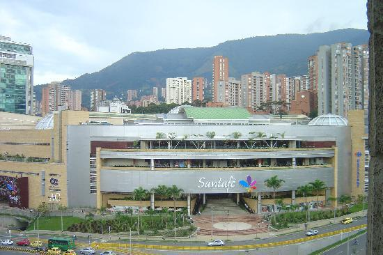 Hotel Porton Medellin: The view from our room