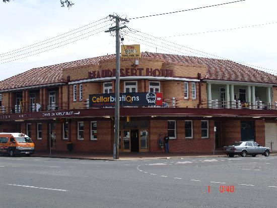 The famous Beaudesert Hotel