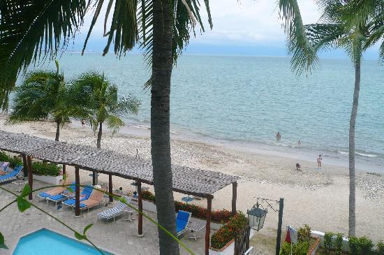 Vista Vallarta: Playa desde la habitación