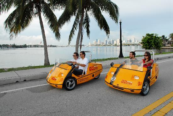 GoCar Tours Miami: GPS Guided Tours