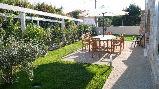 Villa Plein Soleil: Le jardin à disposition des hôtes