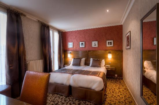 Hotel Abbatial Saint Germain: Superior Room