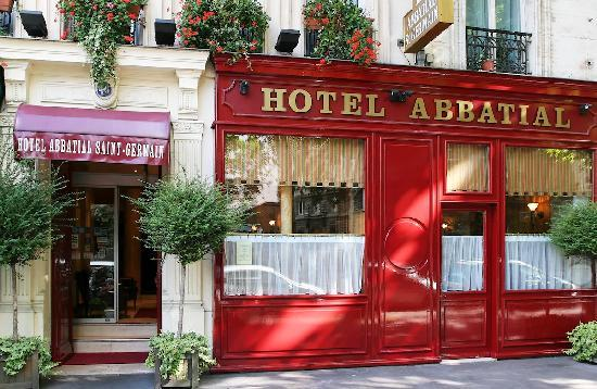 Hotel Abbatial Saint Germain: Front