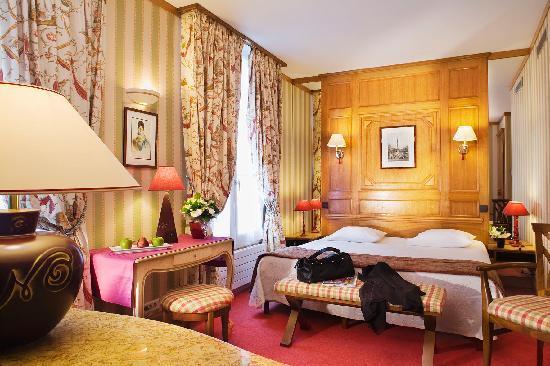 Hotel de Fleurie: Chambre Twin