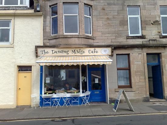 Great Cumbrae, UK: Dancing Midge Cafe - Cumbrae