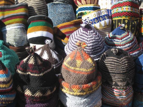 Riad Linda: Berber hats