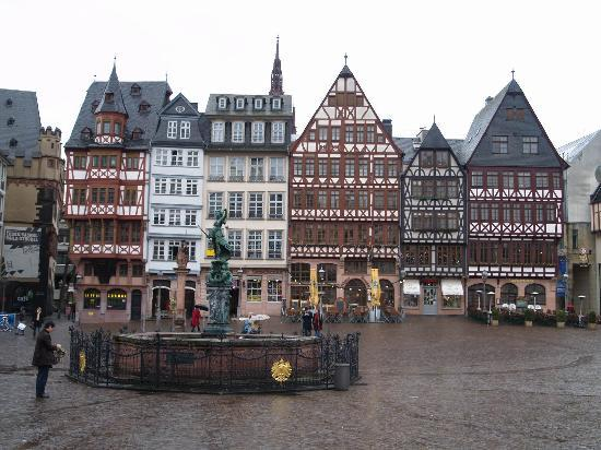 Francfort, Allemagne : The Old Town