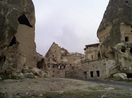 Cappadocia, Tyrkia: cave houses