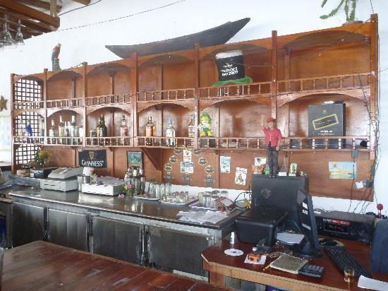 Hotel Patrick: The bar.