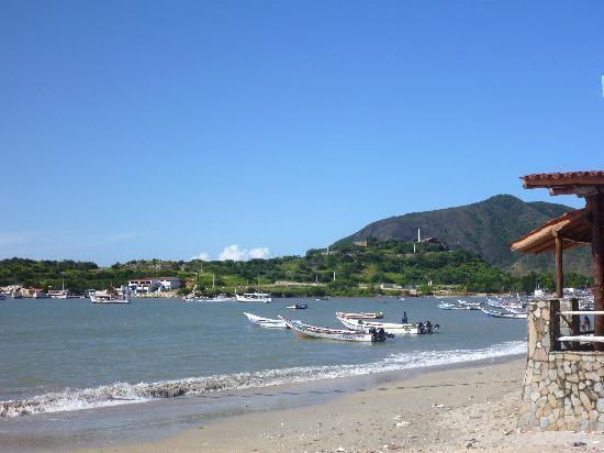 Hotel Patrick: The beach.