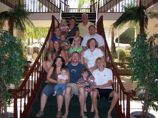 WorldMark Palm Springs : Part Of our Family On Palm Springs Stair case