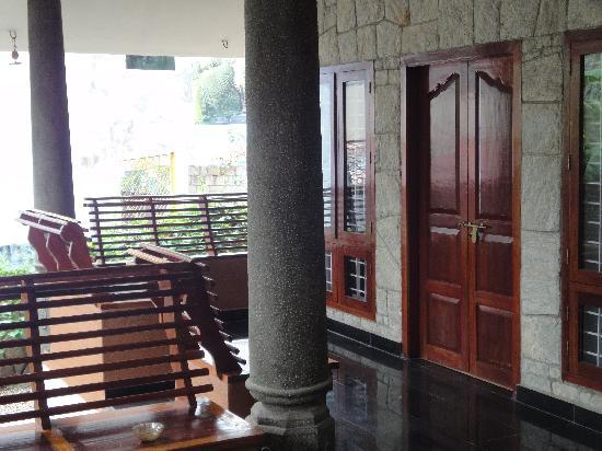 Vedic Heritage Boutique Hotel: The terrace