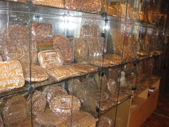 Gingerbread Museum: vetrina